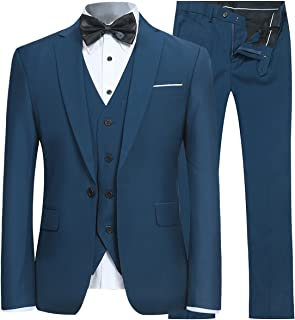 Best aqua blue suit Reviews