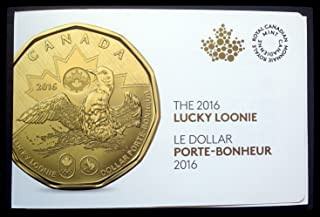 2016 Canada Lucky Loonie 5-Pack Circulation Coins