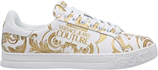 VERSACE JEANS COUTURE Sneakers Fondo Court Uomo Bianco