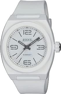 [リスニー]RISNY 腕時計 電子マネーEdy(エディ)搭載 ホワイト RS-001M-03