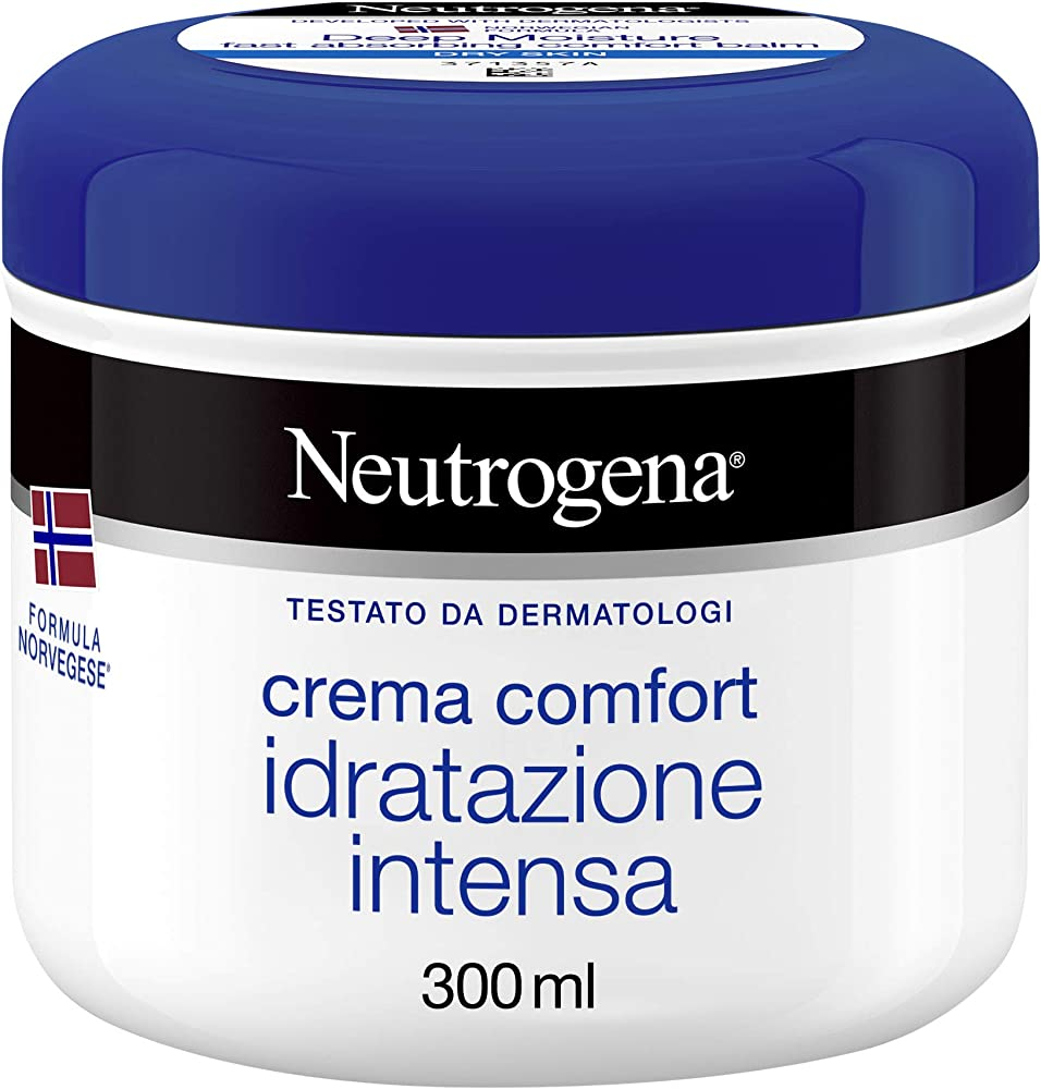 Neutrogena, crema comfort ad idratazione intensa, 300 ml 6323100