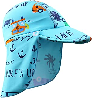 Baby Toddler Sun Protection Hat UPF 50 + Flap Hat