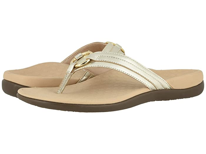 VIONIC  Aloe Leather (Champagne) Womens Shoes