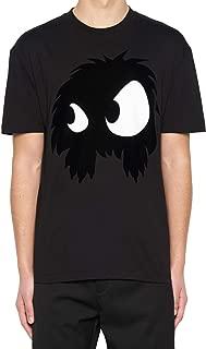 Alexander McQueen Luxury Fashion Mens 291571RKH521068 Black T-Shirt |