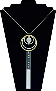 Jewelry for Women Celebrating Shattering The Glass Ceiling! The Believe Necklace.