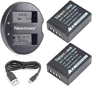 バッテリーパック Newmowa NP-W126 互換バッテリー 2個 + 充電器 セットFujifilm NP-W126/NP-W126S Fujifilm X-H1 Fuji FinePix HS30EXR HS33EXR HS50EXR X-A1 X-A3 X-A5 X-E1 X-E2 X-E3 X-M1 X-Pro1 X-Pro2 X-T1 X-T2 X-T3 X-T10 X-T100