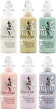 Tonic Studios Nuvo Dream Drops - Iridescent Rainbow-Finish Embellishment Drops - Six 1.3 Ounce Bottles
