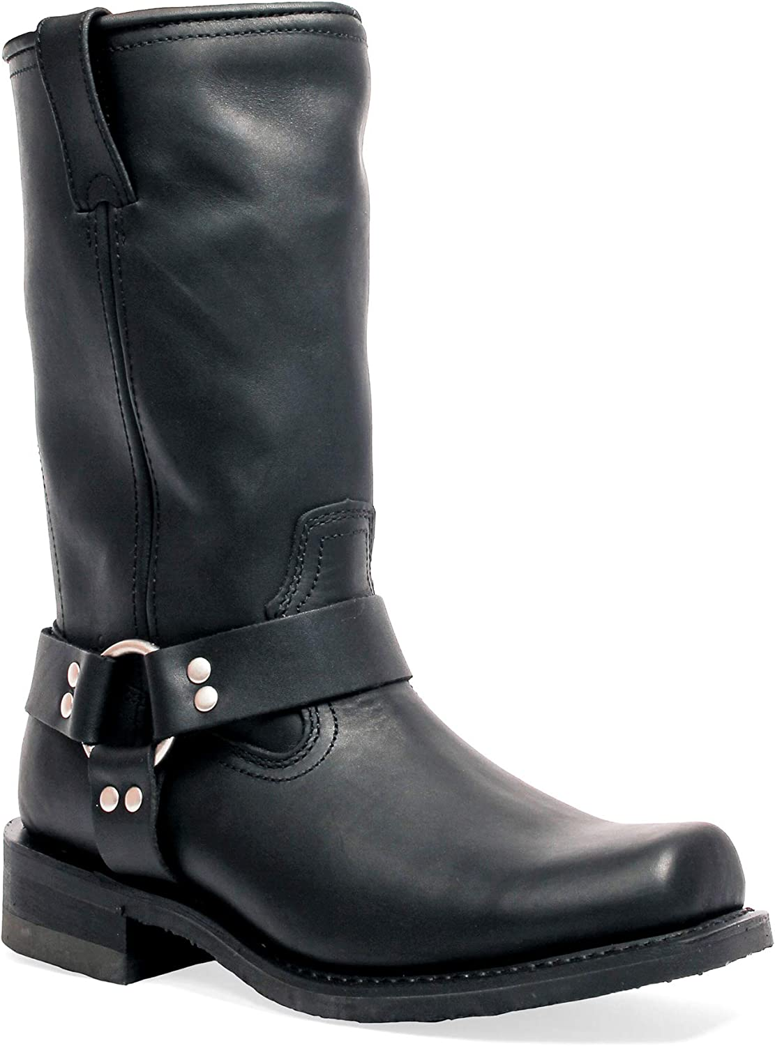 Men's Masterson Black Harness Boot Motorcycle Ranking TOP11 Max 41% OFF Leather
