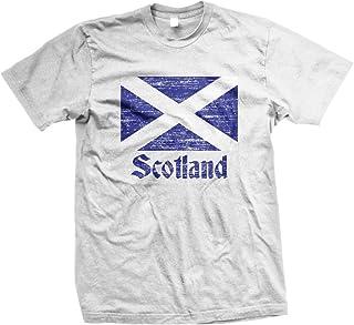 NOFO Clothing Co Flag of Scotland, Scottish Flag, Saltire Men`s T-Shirt