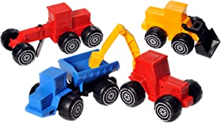 Plasto 1822000EDU 4 Models Vehicle Set, 14-20 cm, Multi Color
