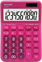 $34 » Samanthaa Office Supplies Calculator Calculator, Desktop Calculators, Dual Power, Big Button 10 Digit Large LCD Display, H...