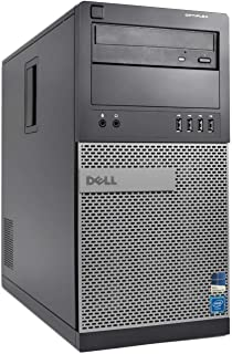 Dell Optiplex 9020 MiniTower - Intel Core i5 3.3GHz, 16GB DDR3, New 500GB SSD, Windows 10 Pro 64-Bit, WiFi, DVD-ROM (Renewed)