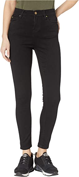High-Waisted Skinny 7/8 Jeans
