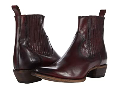 Frye Sacha Chelsea (Red Antique Pull-Up) Women