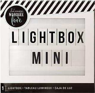 """Heidi Swapp 313280 Marquee Light Box-Mini, 6.5""""X6.5""""X2"""""""