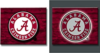 Team Sports America NCAA LED Metal Wall Art