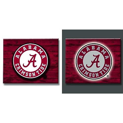 66a815523 Alabama Crimson Tide Wood Decor  Amazon.com