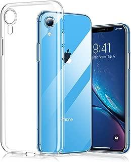 mobile store Slim Fit iPhone XR Uyumlu Kılıf, Ultra İnce Yumuşak Silikon Jel Kapak, Kablosuz Şarj Uyumlu