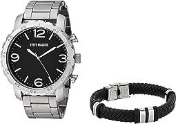 Analog Watch and Bracelet Set SMS590925