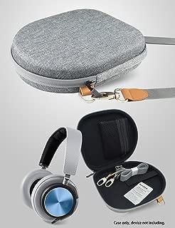 CaseSack Headphone Case Compatible with BeoPlay H4, H2, H6, H8, H9; Parrot Zik 1.0, 2.0, 3.0; Bose QC35, QC25, QC15, QC3, QC2, SoundLink, SoundTrue; AKG K 518/ DJ, K 81, K 520; B&W P5, Shoulder case