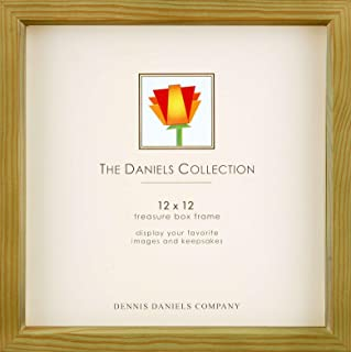 Olive-green 12x12 shadow box for your print or collectibles by Dennis Daniels - 12x12