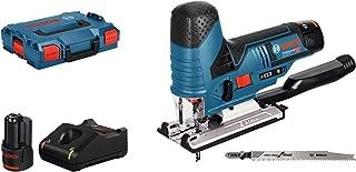 Bosch Professional Scie Sauteuse Sans-Fil GST 12V-70 (12V, course à vide: 1.500-2.800courses/min, 2 batteries 3,0 Ah, pack...