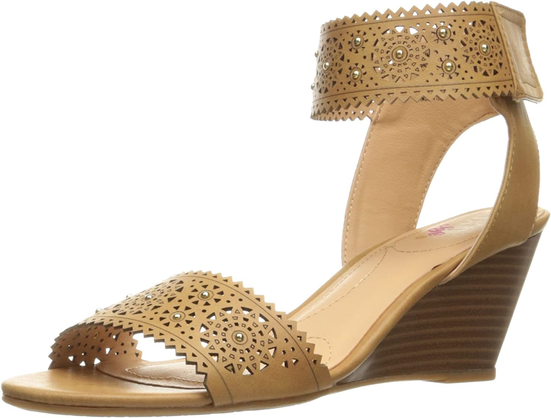 XOXO Women's Sallie-s Wedge Sandal