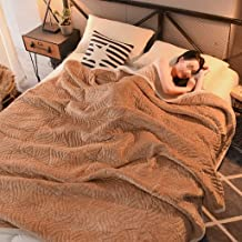 Artificial Wool Blanket 3rd Floor Blanket Quilt Coral Fleece Double Bed Thicken Super Soft Blankets Individual Blankets Th...