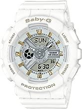 [カシオ] ベビージー BA-110GA-7A1JF 腕時計 ホワイト