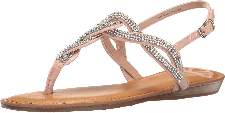 Fergalicious Womens Shade Flat Sandal