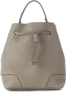 e1caf4bd8 Furla Furla Stacy S Sand Leather Bucket Bag Grey