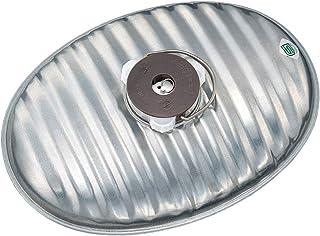 マルカ 湯たんぽ 銀色 3.4L じょうごの要らない湯たんぽ (日本製) 燦々J-34