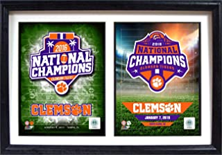 Clemson Tigers 2016 & 2018 National Champions 12