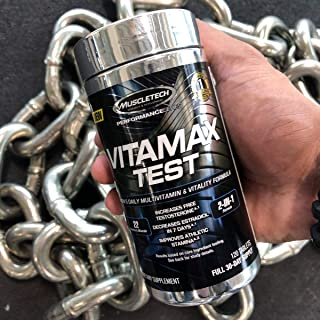 Muscletech VITA MAX TEST 120 tabletas