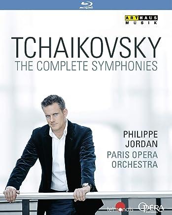 チャイコフスキー : 交響曲全集 / パリ・オペラ座管弦楽団 | フィリップ・ジョルダン (Tchaikovsky: The Complete Symphonies / Paris Opera Orchestra, Philippe Jordan(cond)) [3Blu-ray] [Import] [日本語帯・解説付]