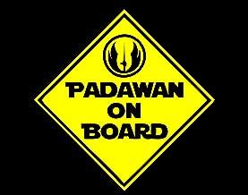 Diamond Graphics Padawan On Board Sign (6