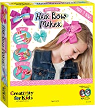 Creativity for Kids Designed by You Hair Bow Maker - Create 5 Hair Accessories