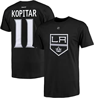 NHL Youth Team Color Player Name and Number Jersey T-Shirt
