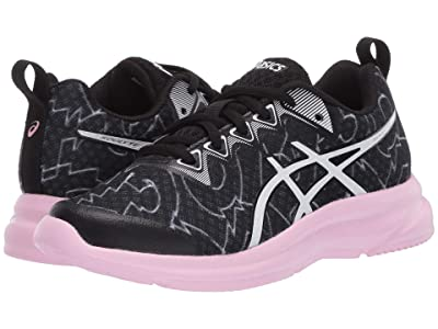ASICS Kids Soulyte (Little Kid/Big Kid) (Black/White) Girl