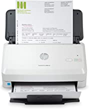$406 » HP ScanJet Pro 3000 s4 Sheet-Feed Scanner (6FW07A), Light Grey, Small (Renewed)