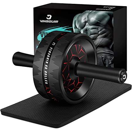 Hard Athlete Ab Roller Wheel for Abdominal Exercise Ab Workout Equipment for Men /& Women. Abs Roller Exercise Wheel with Extra Wide Handles and Thick Wheel Base for Stability