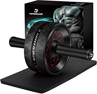 Best Vinsguir Ab Roller for Abs Workout, Ab Roller Wheel Exercise Equipment for Core Workout, Ab Wheel Roller for Home Gym, Ab Workout Equipment for Abdominal Exercise Review