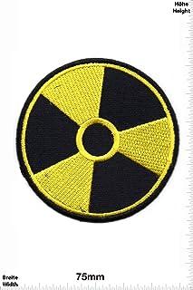 Aufnäher Radioaktiv Patch Flagge Fahne Flaggen