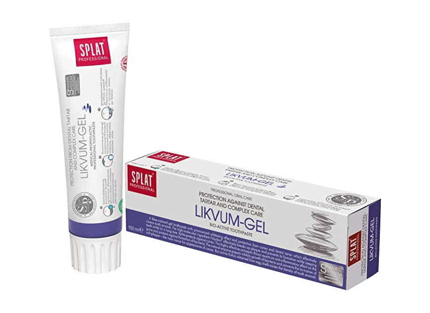 愛撫それにもかかわらずシンボルToothpaste Splat Professional 100ml (Likvum-gel)