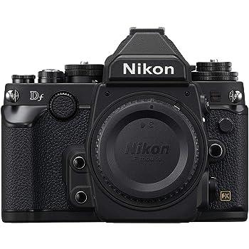 Nikon Df 16.2 MP CMOS FX-Format Digital SLR Camera Body (Black) (Renewed)