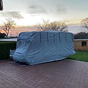 Wohnmobil Schutzhülle Schutzhaube Für Campingmobile Camper Größe M 7 30 X 2 35 X 2 75 M 2237 Auto