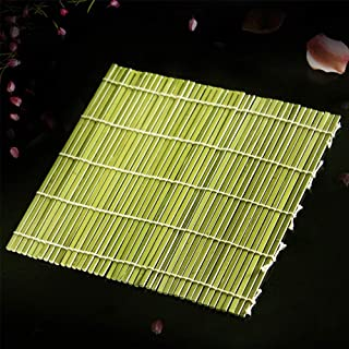 Sushi - Alfombrilla de bambú no tóxica para hacer sushi (24 x 24 mm) 24 * 24 mm As Picture Show