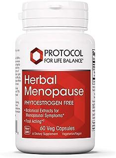 Protocol For Life Balance - Meno Transition (Herbal Menopause) - Phytoestrogen Free, Support for Menopausal Symptom Like H...