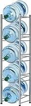 5-Tier Water Bottle Holder Cooler Jug Rack, 5 Gallon Water Bottle Storage Rack Detachable Heavy Duty Water Bottle Cabby Rack
