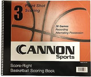 Cannon Sports Scorebook